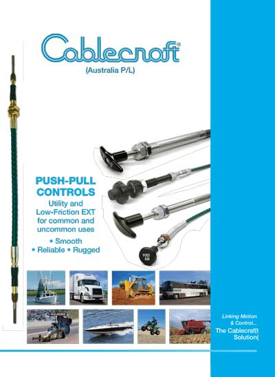Push-Pull Controls Cablecraft Australia - Mechanical Cables