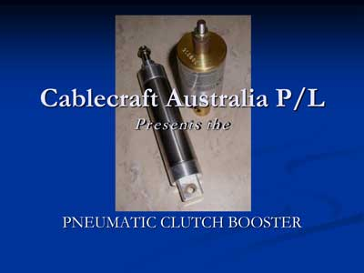 Pneumatic Clutch Booster - Clutch Boosters