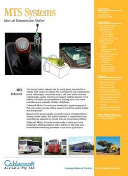 Manual Transmission Shifter - MTS Systems (Manual Transmission Shifting)