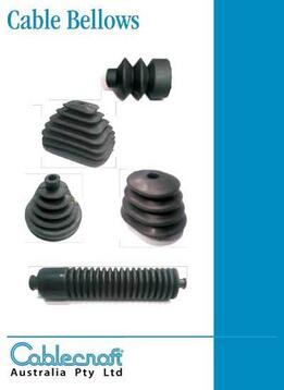 Cable Bellows - Rubber Bellows - Cablecraft Australia