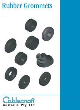 Rubber Grommets - Rubber Bellows - Cablecraft Australia